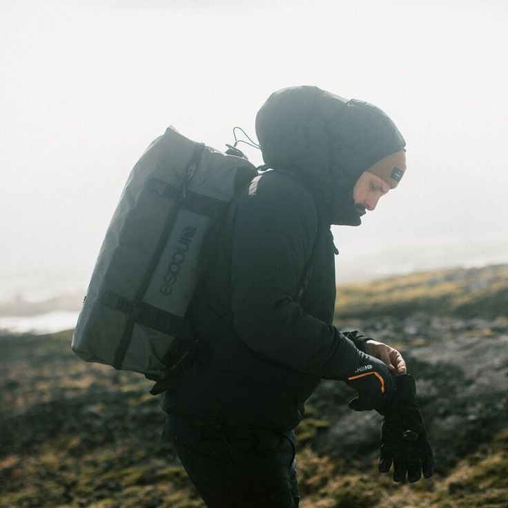 Incase TRACTO Duffel. A highly functional weather resistant carry-on duffel designed to endure the elements and rigor of any adventure.