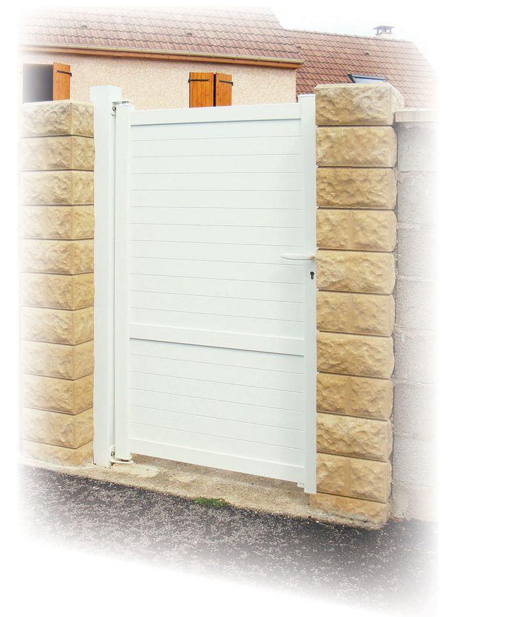 photo portail outremer-2 vantaux - portillon en aluminium   KSM Production