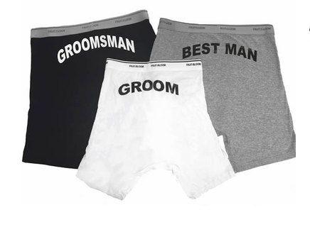 Groomsmen Boxer Briefs
