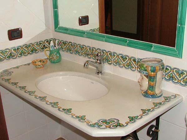17 best images about stile italiano bagni on pinterest for Arredamento rustico italiano