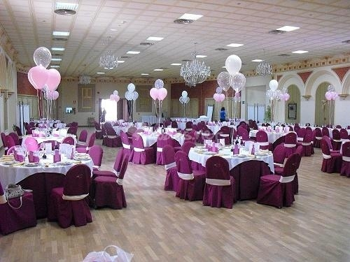 17 best images about exit events decor on pinterest for Balloon decoration for wedding receptions