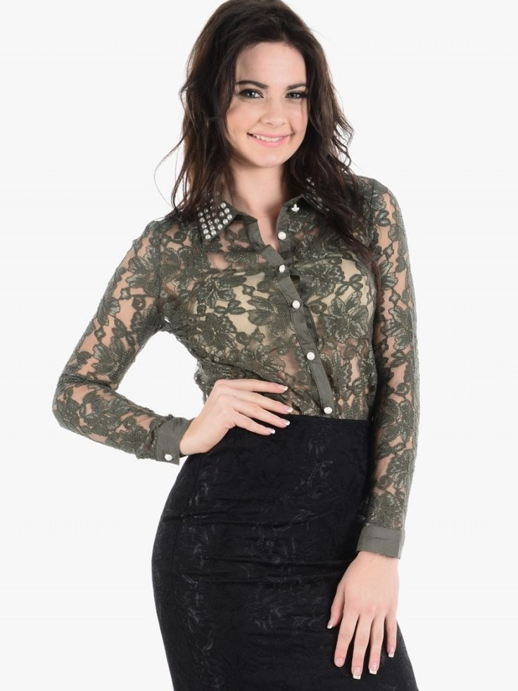 Lace Tops With Sleeves 4