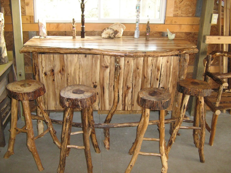 gallery for diy rustic bar