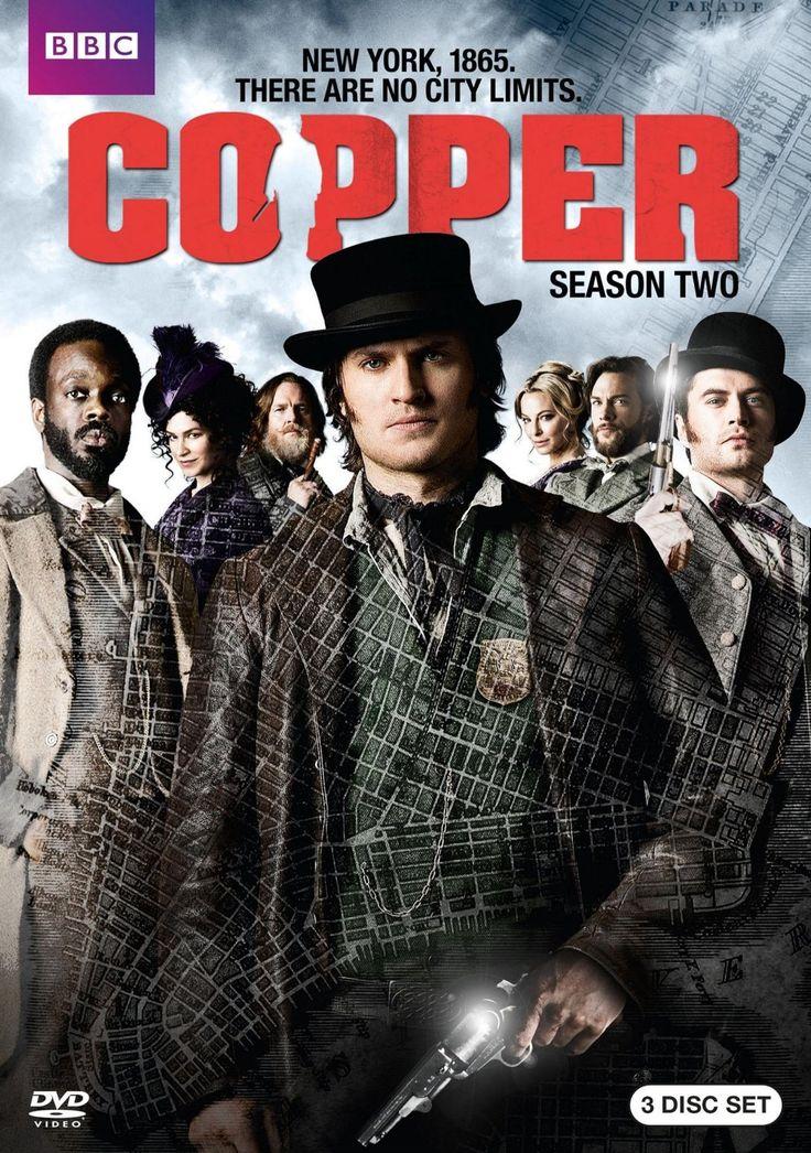 Copper (2012) S12 Cast Kyle Schmid, Tom WestonJones