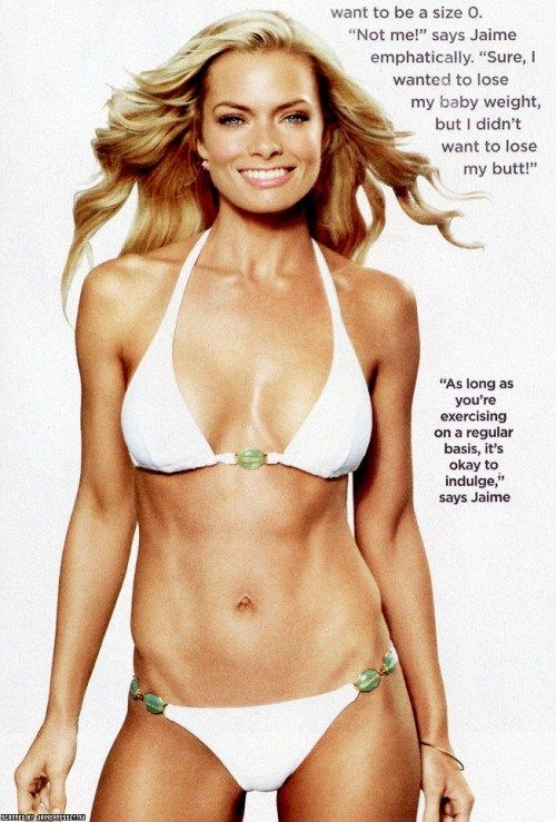 Jaime Pressly in Shape Magazine: Her Great Figure and Her Workout