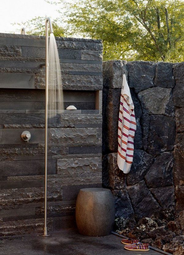Outdoor Shower Enclosure Ideas U2013 Fantastic Showers For Your Garden