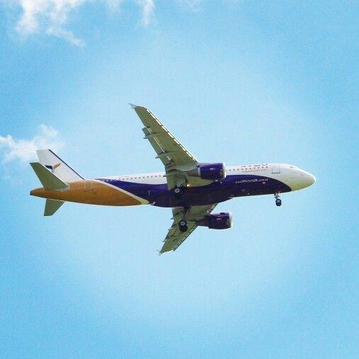#YanAir #A320 #EPWR #wrocław #wroclaw #spotting #planespotting #plane #samolot #polska #poland