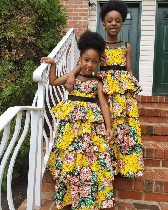 f14fdfadcd2 ankara styles, african prints, Check Out This Latest Ankara Styles For Your  Lovely Kids
