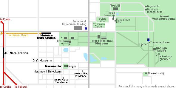 Nara Travel: Access, Transportation and Orientation