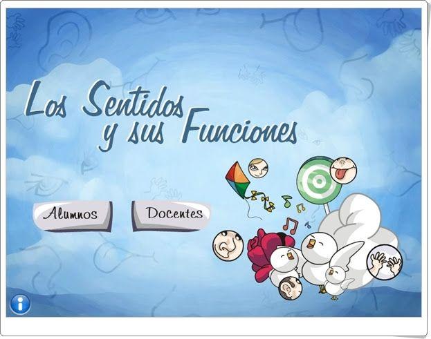 Los sentidos y sus funciones (Educarex.es)