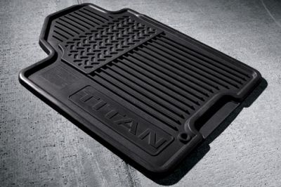 Nissan Titan 2-Piece All-Season Floor Mats 2008-2015