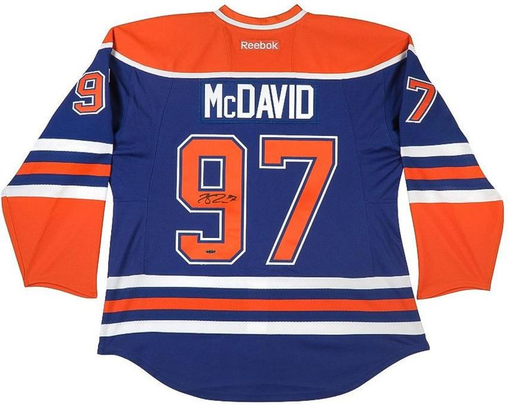 To hockey fans and collectors, the most iconic piece of memorabilia has to be the beautifully stitched hockey sweaters with the number, name and team of their favorite player. Here is your chance to own an authentic Connor McDavid jersey with his autograph on the back of the jersey. Hockey journalists have used the terms œgenerational player? and œfranchise-changing? to describe McDavid. Playing for a team with such rich history that includes five Stanley Cup wins, the expectations are high…