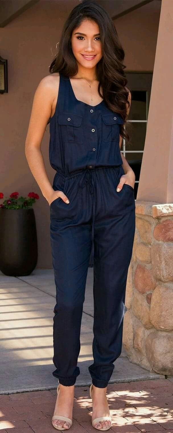What to wear with jeans jumpsuit 50+ best outfits #jumpsuit #outfit