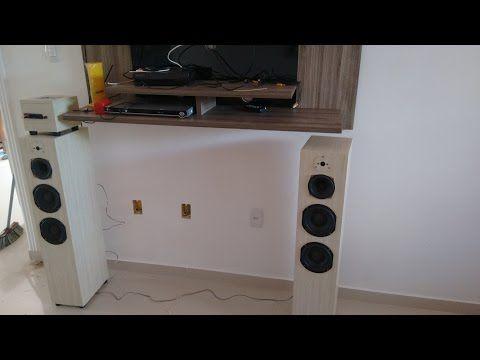 Caixa torre 3 vias - YouTube