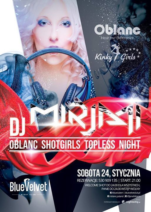 DJ Mirjami OBLANC PARTY NIGHT