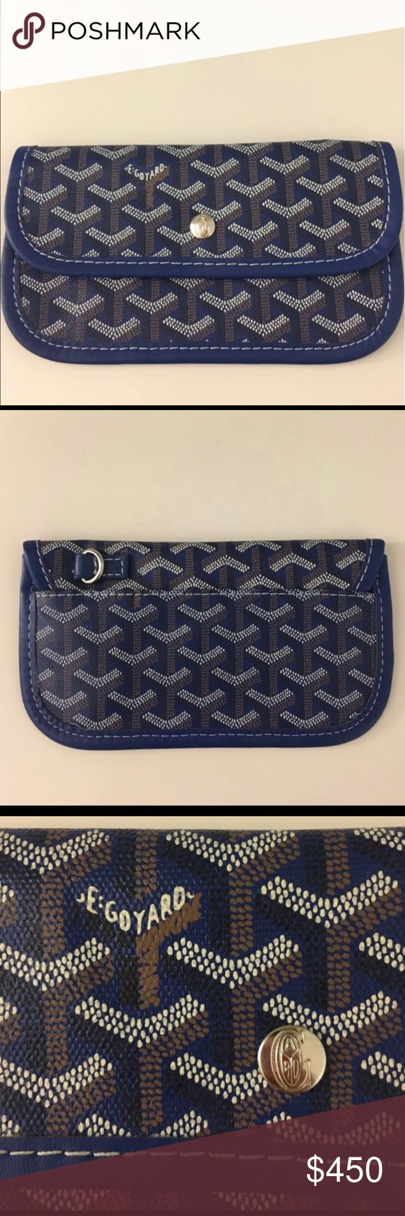 Goyard mini wallet This is part of the Goyard Tote bag. Never been used. Since I'm in a great mood I will sell it with a Goyard. Serial number on the 4th picture Goyard Bags Wallets
