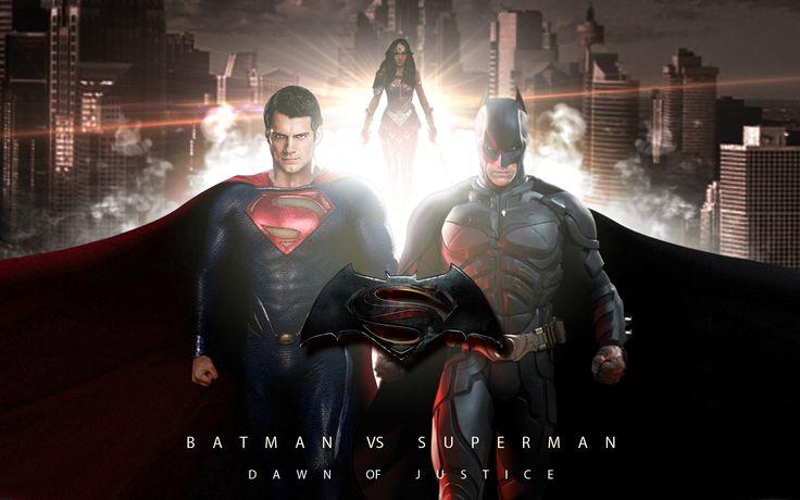 Batman VS Superman 2016 Cast Wallpaper