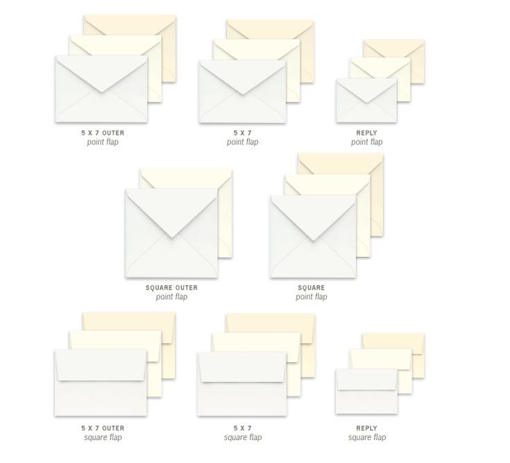 21 best images about sizes for invites and envelopes on With wedding invitations sizes square