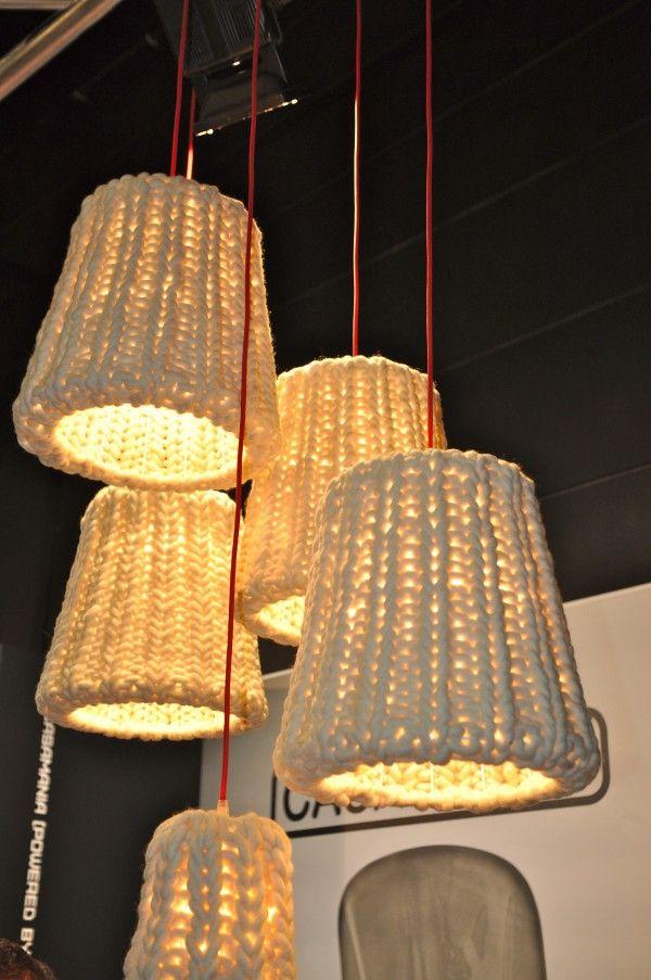 Wollen Lampenkappen van Casamania op Design District  Fotografie ...