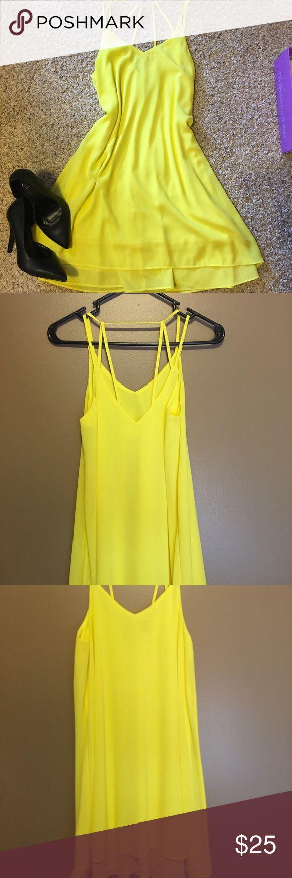 yellow dress size 5 zebra