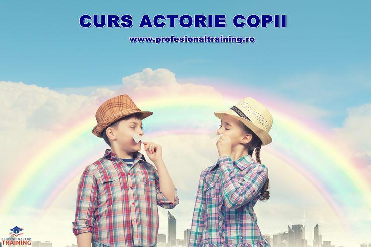 Doreşti sã dezvolţi abilitãţile şi imaginaţia copilului tãu prin arta jocului şi actoriei bine organizate ? Capacitatea de exprimare a copilului tau necesitã îmbunãtãţiri? Vino sã dezvolţi personalitatea copilului tãu în cadrul cursului de actorie! detalii : http://www.profesionaltraining.ro/dezvoltare-copii/curs-actorie-copii Tel: 0744.974.775 email : office@profesionaltraining.ro