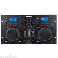 Gemini CDM-4000 Dual MP3 CD Player Mixing Console - CD & Media Players - DJ Equipment - DJ & Sound | Gearooz