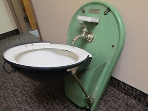 Pixel Foldable Bathroom Sink 1. Vintage Adams Westlake Folding Train Sink