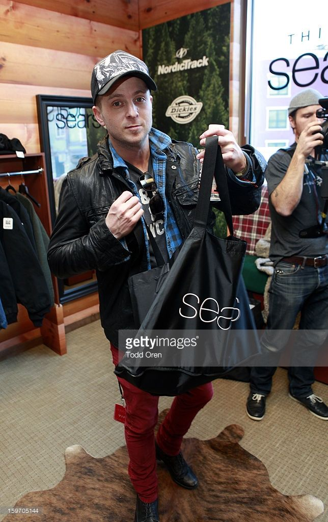 Ryan Tedder of OneRepublic attends Sears Shop Your Way Digital Recharge Lounge on January 18, 2013 in Park City, Utah.