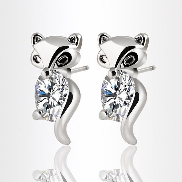 Fox Stud Earrings for Women