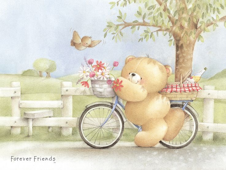 Cute Pooh Bear Wallpapers Forever Friend Wallpaper Good Day Bears For All