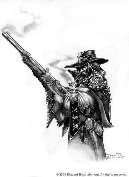 Warcraft - Bad Ass Marksman by Samwise Didier. DeviantART