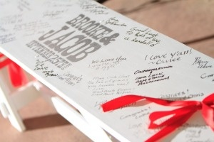 guestbook BENCH!