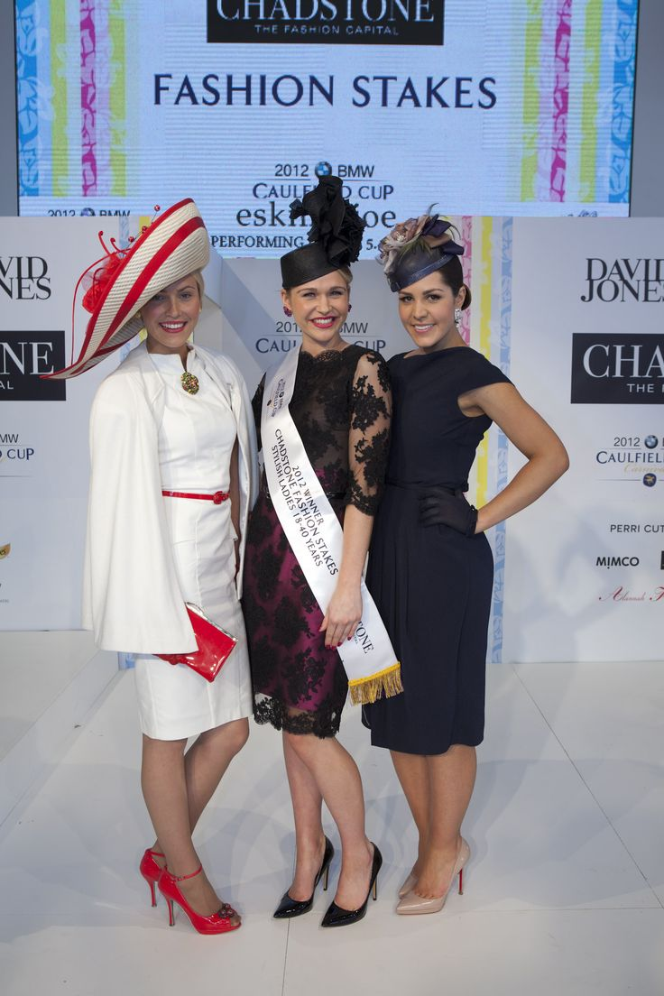 Winners of the 2012 Chadstone Fashion Stakes - Stylish Ladies Category