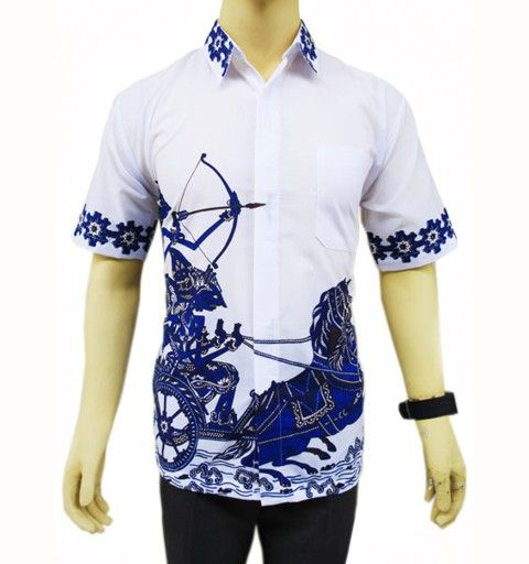 Baju batik pria HP180