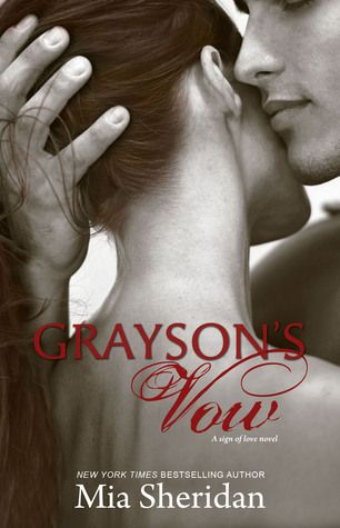 Grayson's Vow by Mia Sheridan Sparkles here- I'm a bit of a Mia Sheridan fan. This is a sweet, emotional romance with some angst, great chemistry and sultry loving. It will definitely leave you with a smile on your face