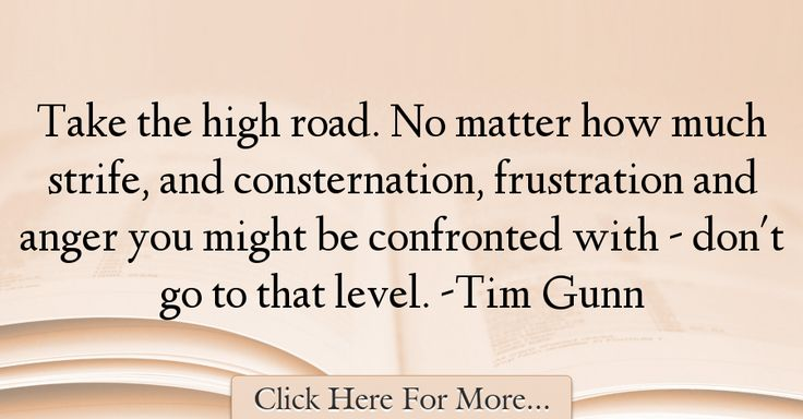 Tim Gunn Quotes About Anger - 3153