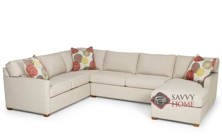 The 287 U-Shape True Sectional Queen Sleeper Sofa by Stanton at Savvy Home. $2,569.00