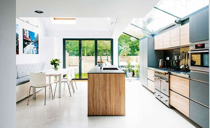 If you're planning the perfect kitchen extension, get some inspiration from these beautiful projects, all under £200,000