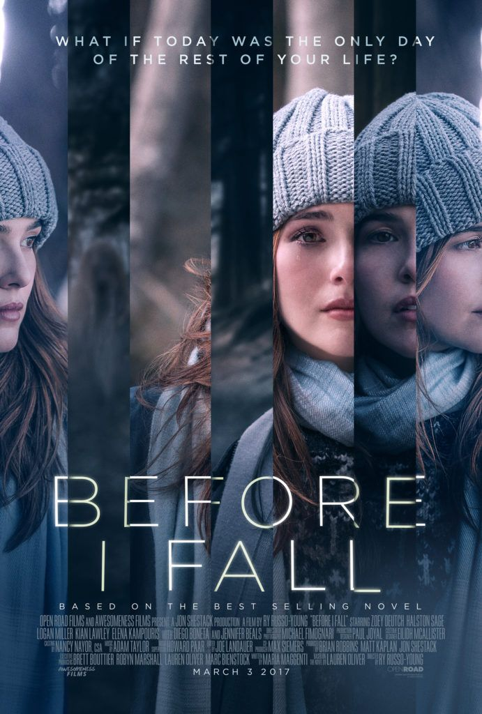 Before I Fall -- sebuah film yang diangkat dari novel karya Lauren Oliver. What if today was the only day of the rest of your life?