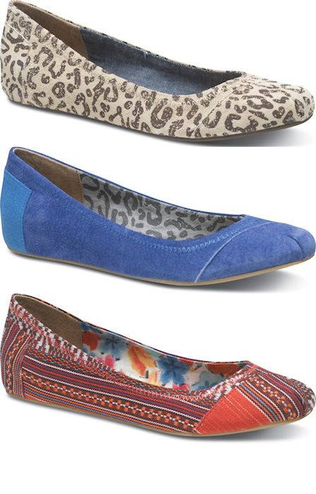 TOMS Ballet Flats are SO 2012! ;) Can't wait till they are in stores so I can buy a pair!