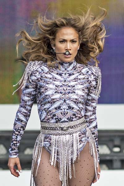 Jennifer Lopez performing at The British Summer Time Festival, London - July 14 2013