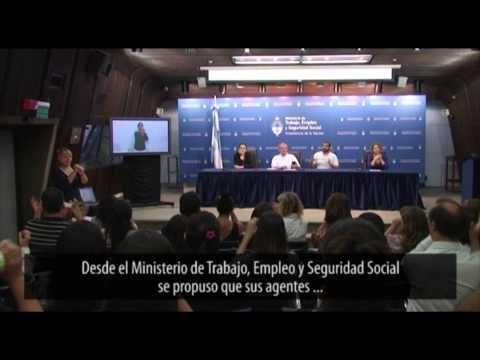 Video institucional sobre el curso de lenguaje de señas realizado en el @MinTrabajo
