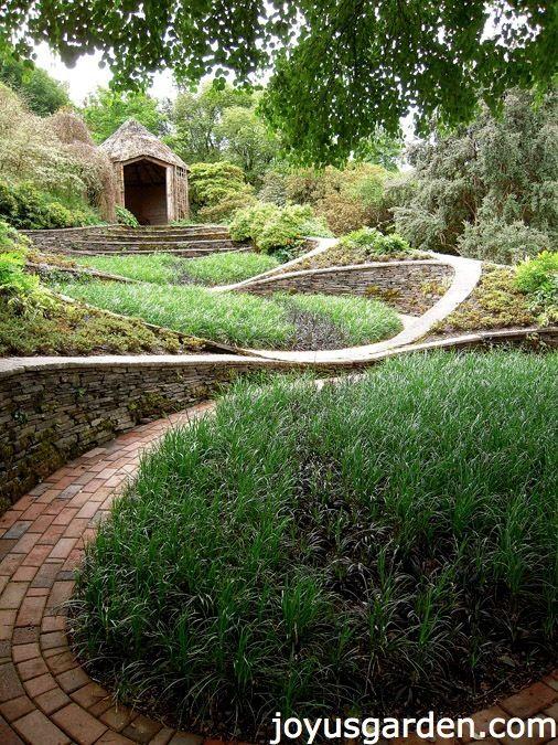 The Garden House, Devon, UK.  A beautiful garden to visit in southwestern England.
