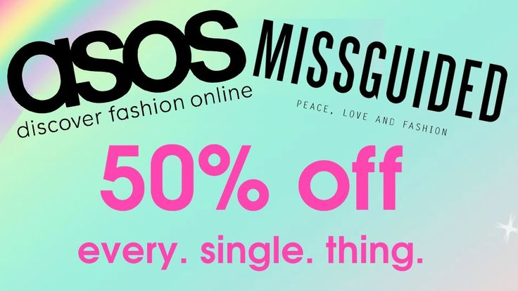 ASOS 20% OFF | MISSGUIDED 50% OFF DISCOUNT CODES | BLACK FRIDAY