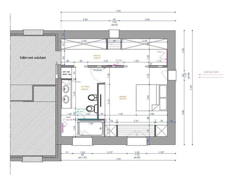89 best Rénovation chambre images on Pinterest Bathroom, Modern
