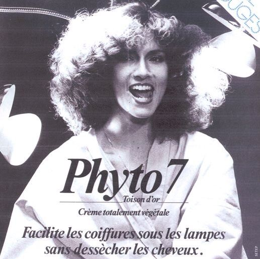 Μια παλιά γαλλική διαφήμιση της κρέμας ημέρας ενυδάτωσης & λάμψης PHYTO7!  Εσύ θυμάσαι την πρώτη φορά που χρησιμοποίησες τα προϊόντα PHYTO;