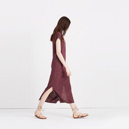 Madewell+-+Midi+Column+Dress