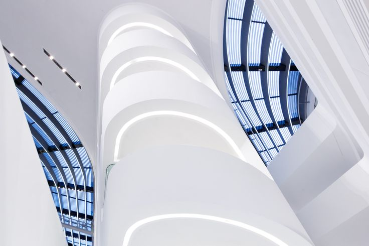 https://flic.kr/p/qmwht5 | Wirtschaftsuniversität Wien | Library and Learning Center, Zaha Hadid