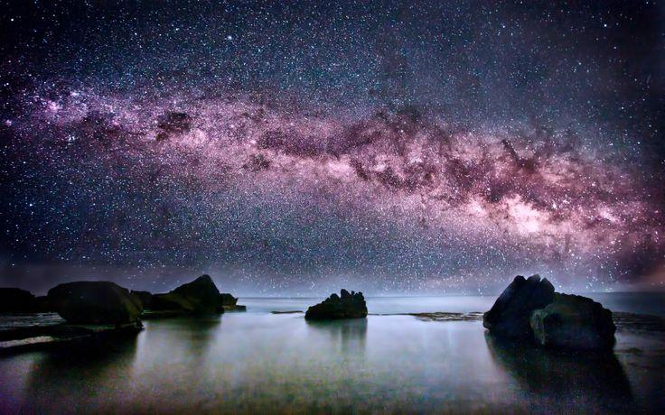 Milky Way viewed in Australia