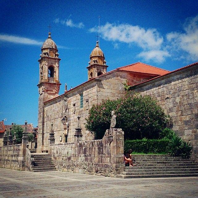 Cambados en Pontevedra, Galicia